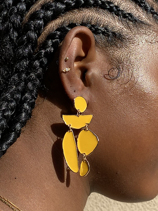 Brazil Tile Earring