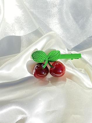 Cherries Hair Clip