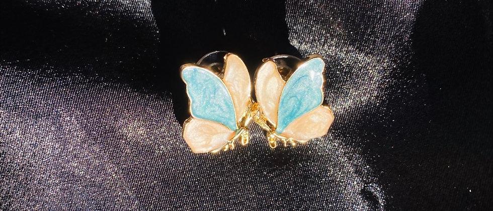 Pastel Butterfly Earring