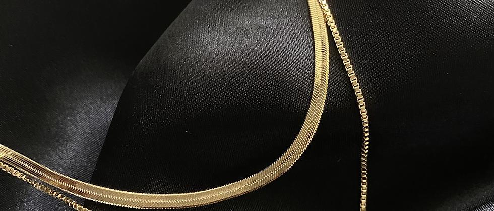Multi-Layer Snake Necklace