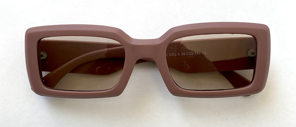 Squared Dusty Rose Sunnies
