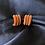 Thumbnail: Brown Suede Earrings
