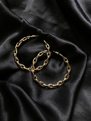 Chain Large Hoops
