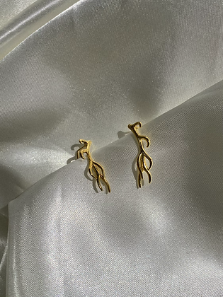 Vein Runner Earring