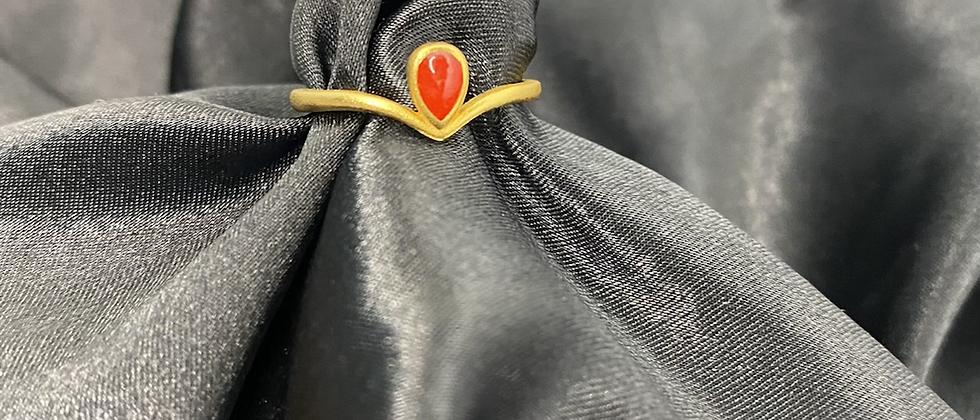 Ruby's Rider Ring
