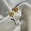 Thumbnail: Multi Metal Rose Earring