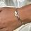 Thumbnail: Tri Metal Chain Bracelet