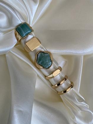 Turquoise Fashion Ring Set
