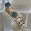 Thumbnail: Turquoise Fashion Ring Set