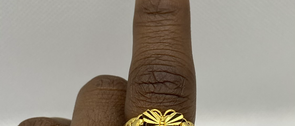 Butterfly Baby Ring