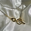 Thumbnail: Geo Metal Chain Necklace