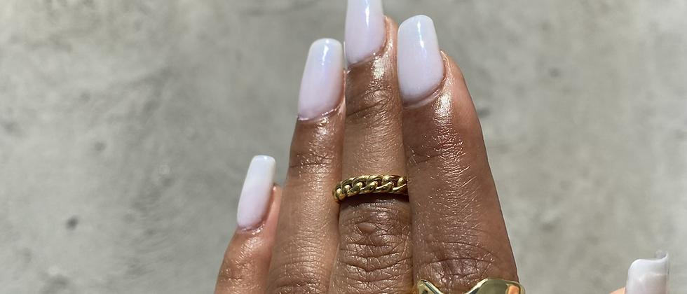 Wrinkled Band Ring