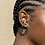 Thumbnail: Inward Spiral Earring