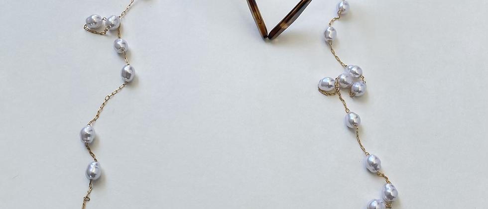 Pearl Glasses/Mask Chain