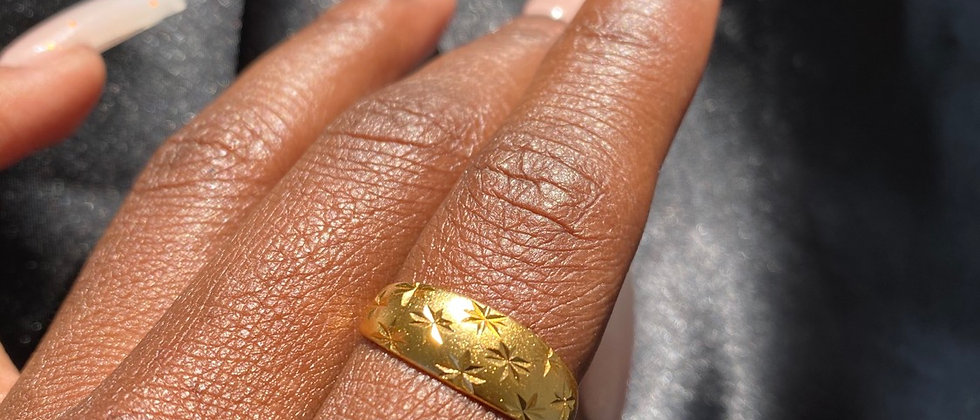 Sparkle Band Ring