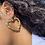 Thumbnail: Bamboo Heart Earring