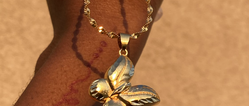 Butterfly, Baby Necklace
