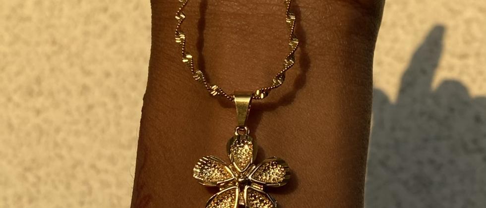 Barbie Flower Necklace