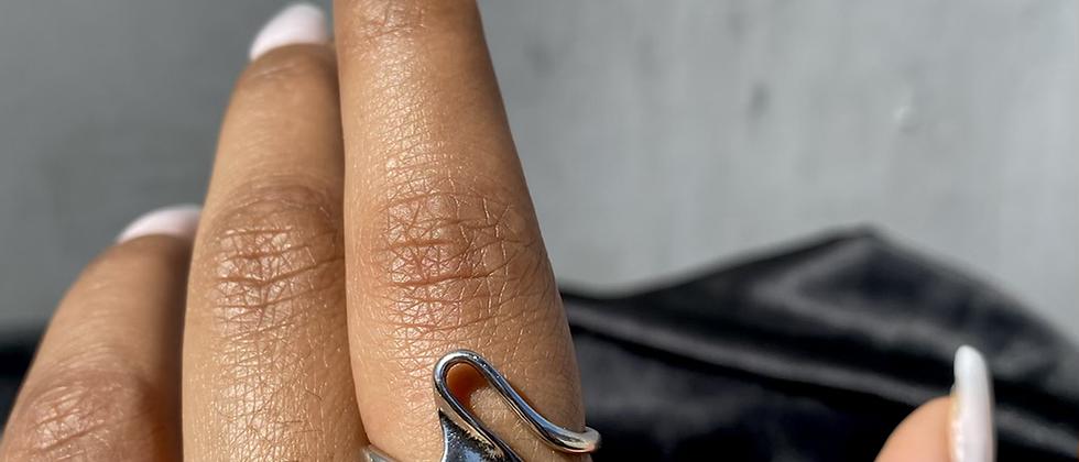 Swirl Simple Ring