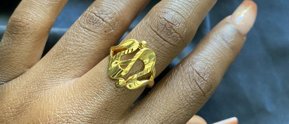 Dixie Swirl Ring