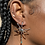 Thumbnail: Spider Turquoise Earring