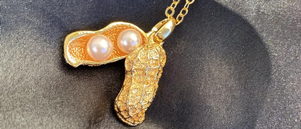 Peanut Pearl Fashion Necklace