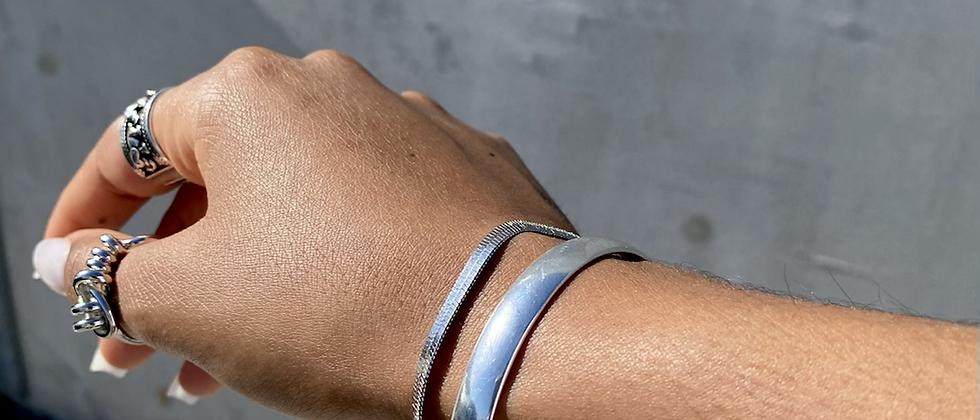 Silk Chain Bracelet