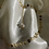 Thumbnail: Melody Disc Pearl Necklace