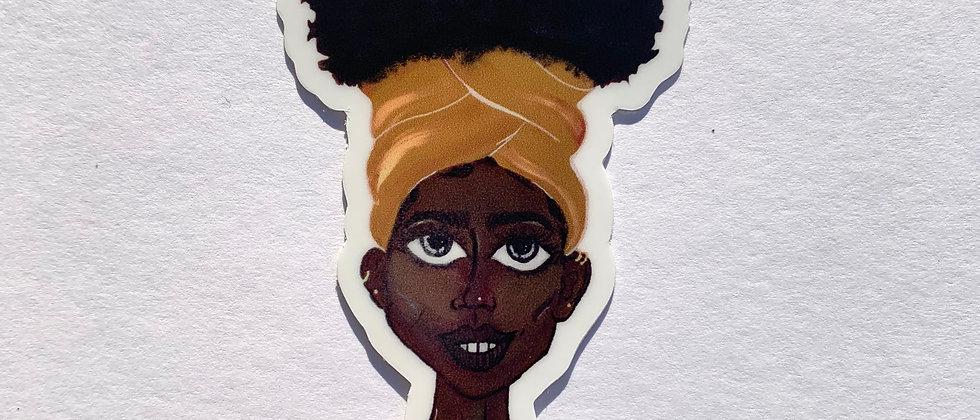 Turban Tina Sticker
