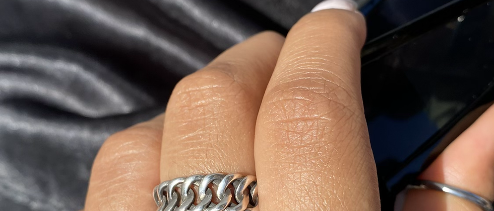 Braided Chain Ring