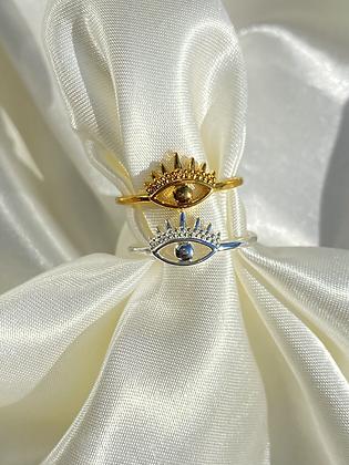 Bright Eye Ring