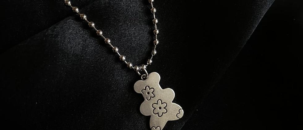 Teddy Chrome Necklace