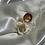 Thumbnail: Cream Irregular Ring Set