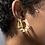 Thumbnail: Pearl + Wire Hoop Earring