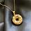 Thumbnail: Auspicious Donut Necklace