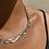 Thumbnail: Tri Metal Chain Necklace
