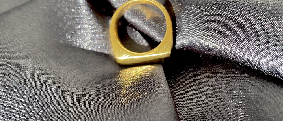 Squared Off Ring