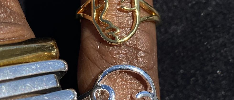 Mini Outline Ring