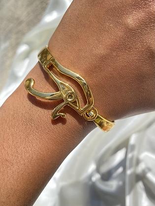 Eye of Horus Hook  Bracelet