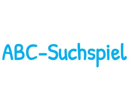 SdW6: ABC-Suche