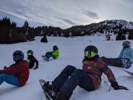 Ein eisiger Skilagerstart