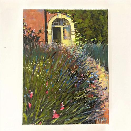 Up The Garden Path: Original Painting