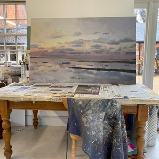Norfolk Seascape: From The Studio