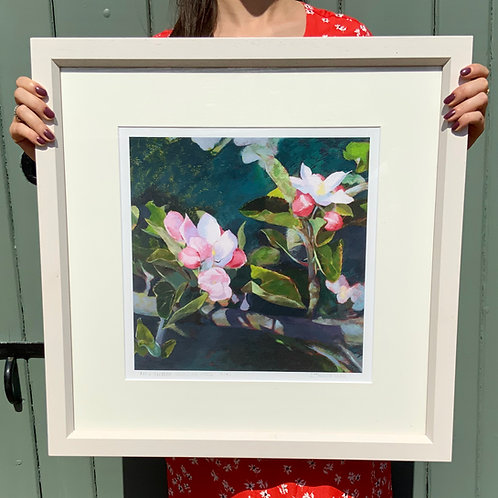 Apple Blossom Speaks for Itself (Inc. Frame)