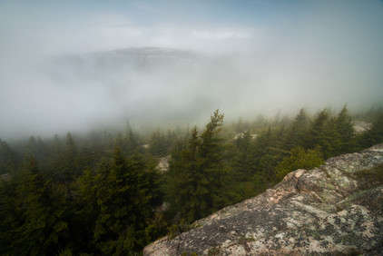 Clearing Fog on Pemetic Mountain 3