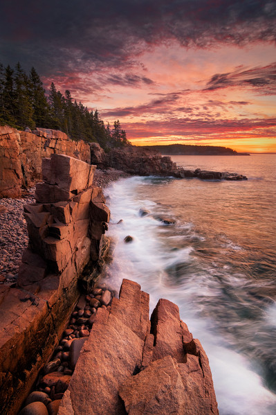 Pinnacles at Sunrise