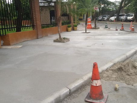 Solução em mobilização, sinalização, lombadas, acesso em calçadas e Guias/Sarjetas  vias públicas.