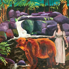#45 LILY AND THE BEAR - Libby Finn