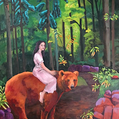 #46 LILY AND THE BEAR - Libby Finn