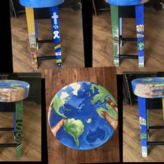 #9 SAVE THE WORLD Collage - Gail Koehler